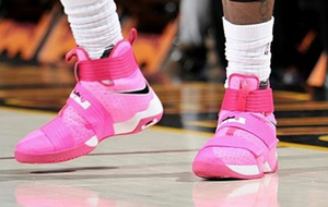Zapatillas rosas de LeBron James