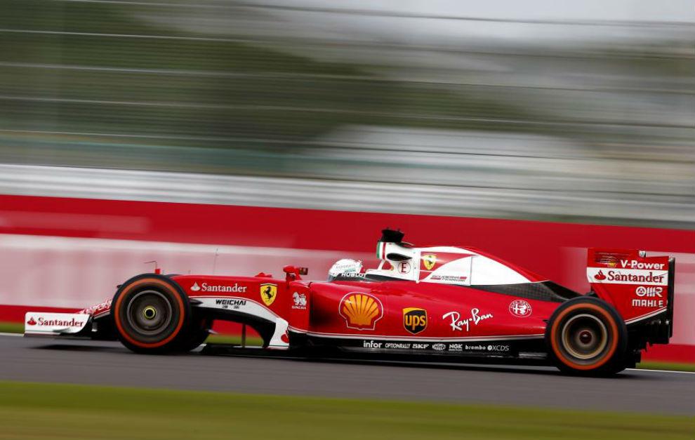 Sebastian Vettel, durante el GP de Japón.