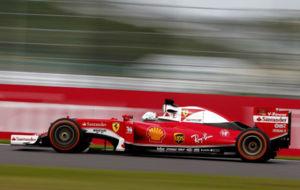 Sebastian Vettel, durante el GP de Jap�n.