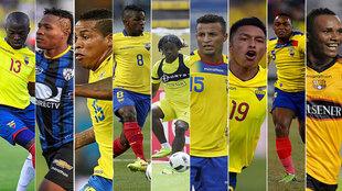 Los nueve jugadores de Ecuador al que le reclaman dinero sus...