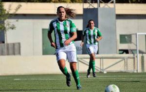 Irene Guerrero durante un partido esta temporada.