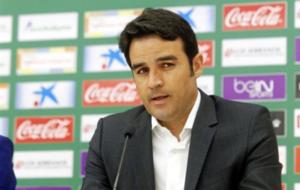 El entrenador del Elche, Alberto Toril.