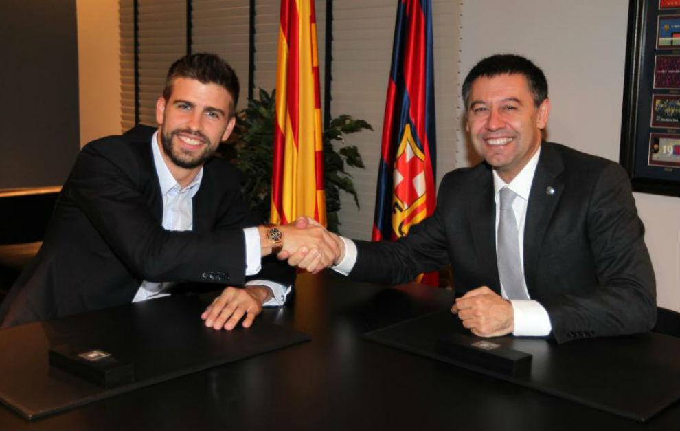 Piqué tiene un plan para ser presidente del Barcelona