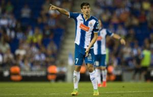Gerard Moreno durante un partido de esta temporada