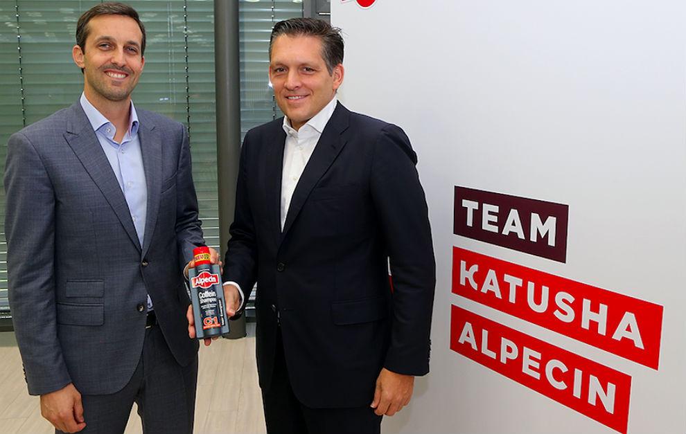 Alexis Schoeb y Eduard R. Dörrenberg tras la presentación del...