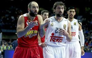 Vassilis Spanoulis (Olympiacos) y Sergio Llull (Real Madrid) abrir�n...