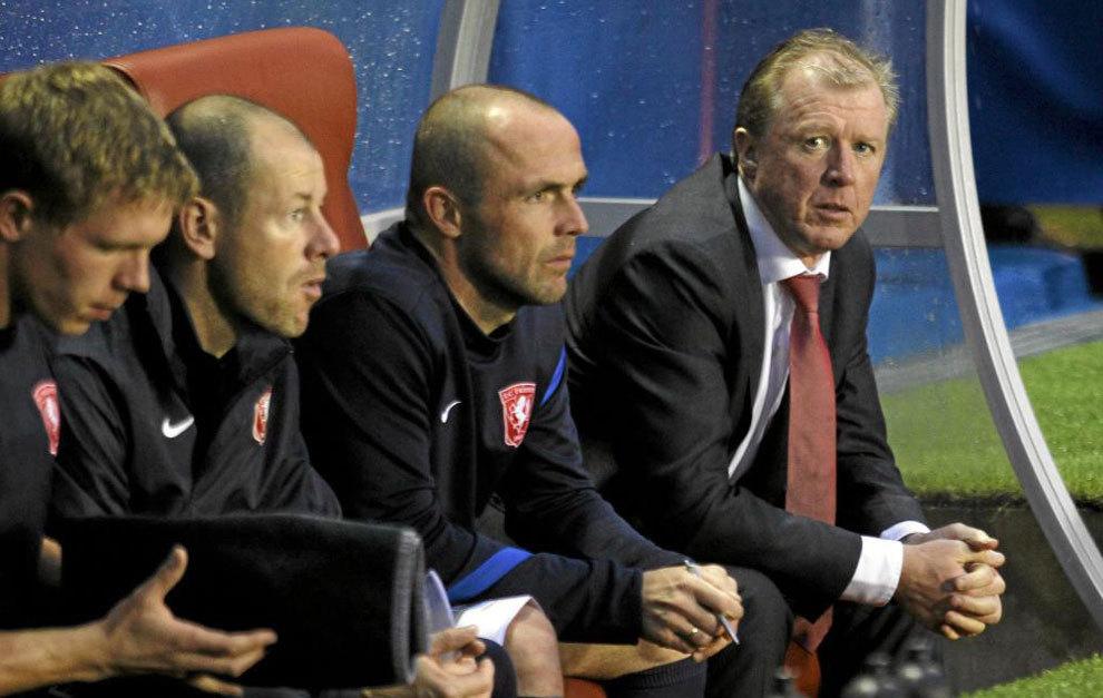 Steve McClaren, en su época con el Twente.
