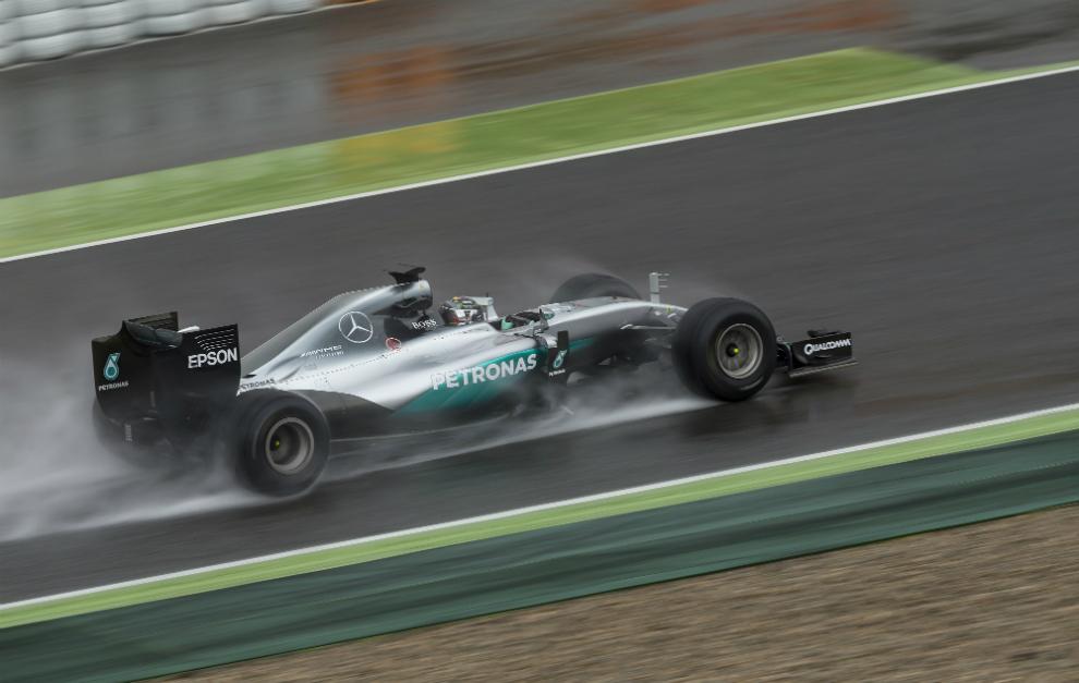 Resultado de imagen de F1 Montmeló lluvia