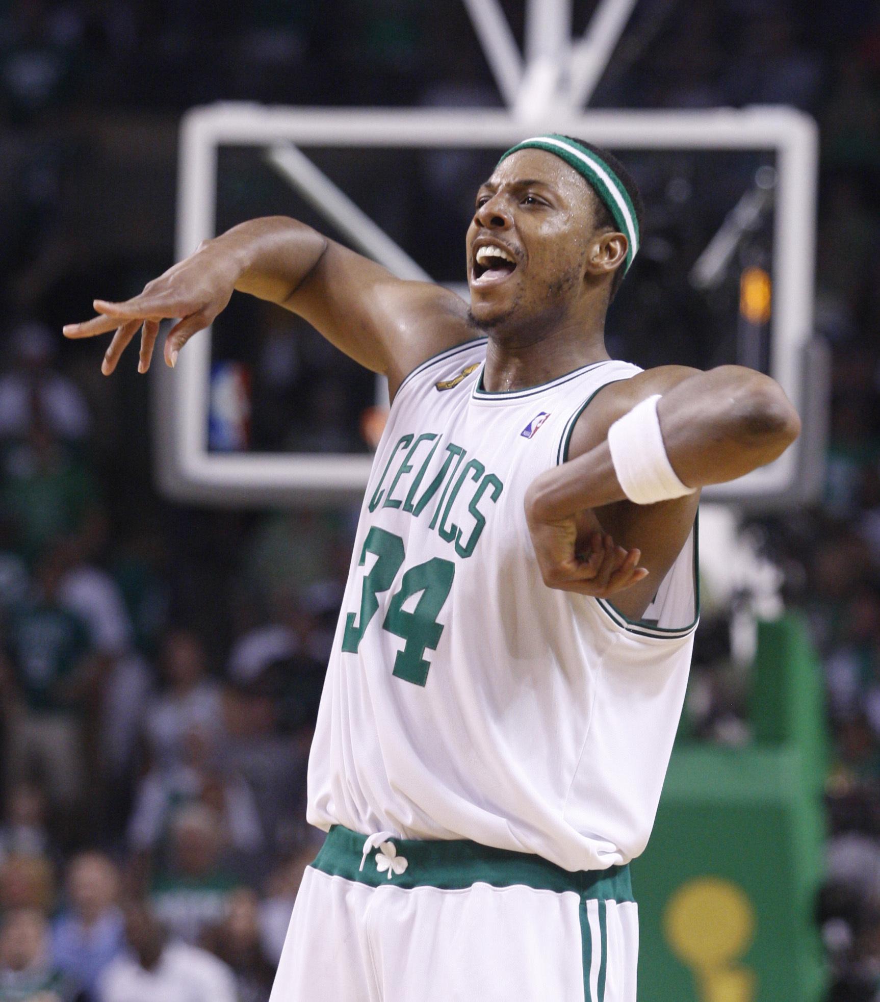 Paul Pierce en 2008 con los Celtics