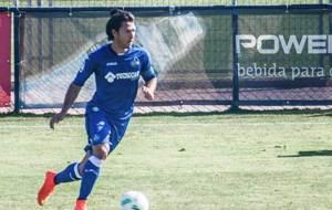 David Barca, durante un partido con el filial azul�n