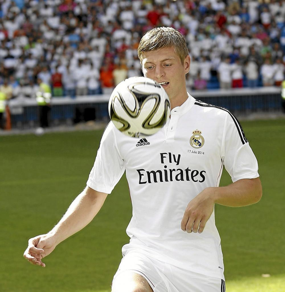 Six more years for Kroos to enter Real Madrid history books