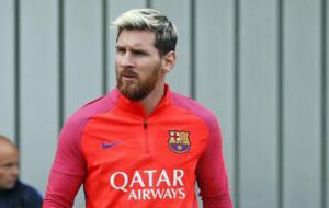 Messi, ya est� disponible para jugar ante el Deportivo