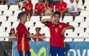 Munir celebra un gol ante San Marino