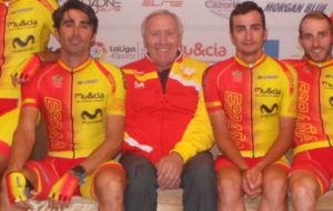 M�nguez, junto a Ventoso, Lobato y Barbero.