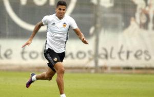 Joao Cancelo hace un cambio de ritmo en la ciudad deportiva de...