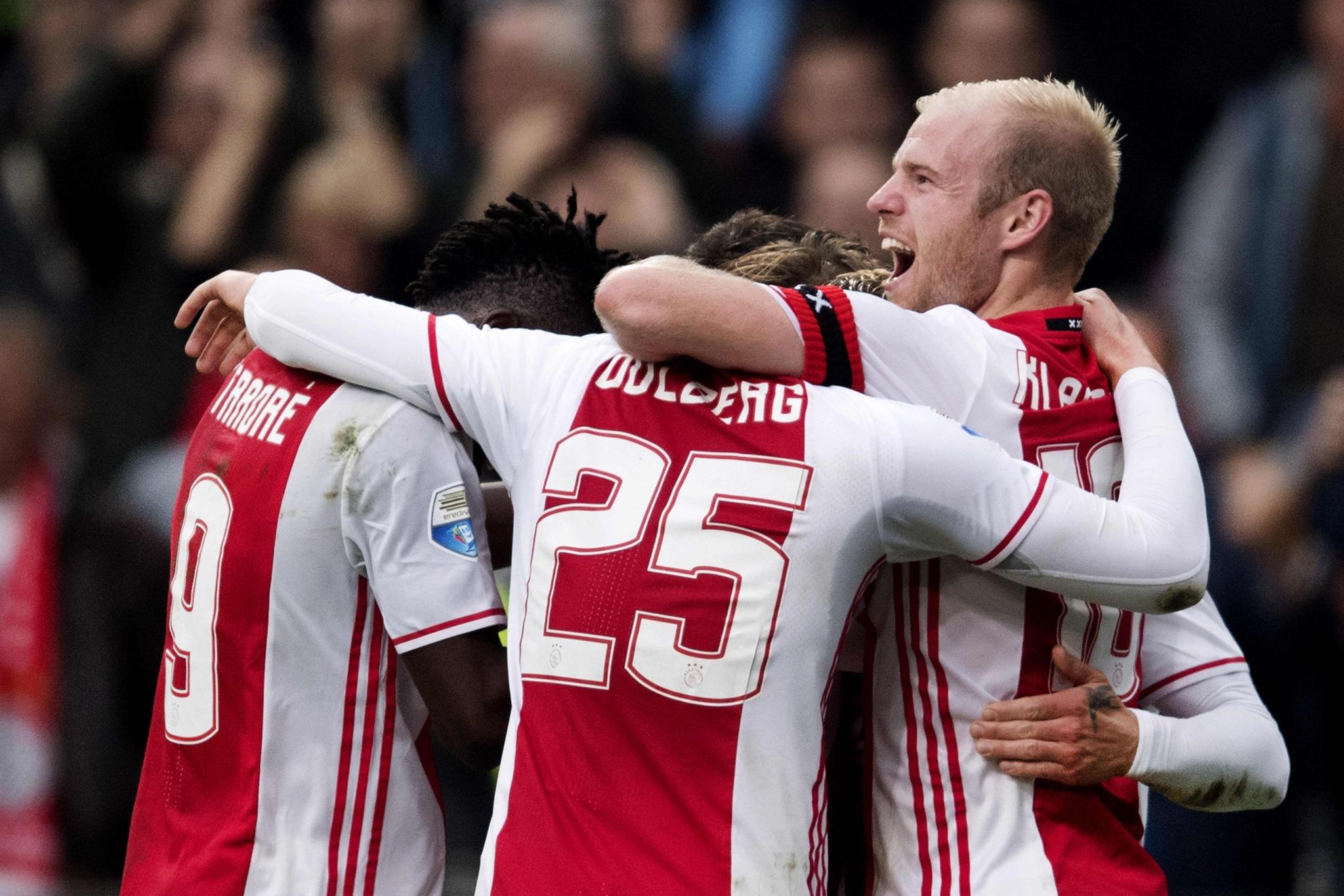 La cantera del Ajax, una de las mejores del mundo.