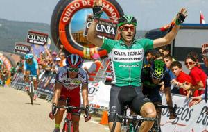 Carlos Barbero, en la Vuelta a Burgos 2015.