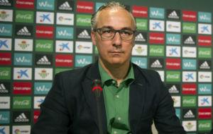 Miguel Torrecilla, durante una rueda de prensa reciente.