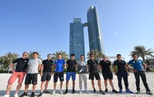 Greipel, Matthews, Viviani, Nibali, Al-Hammadi, Cavendish, Van...