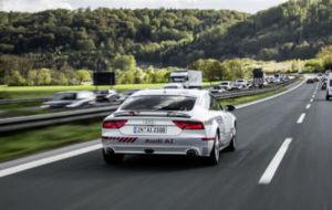 Audi 'Digital Motorway Test Bed'