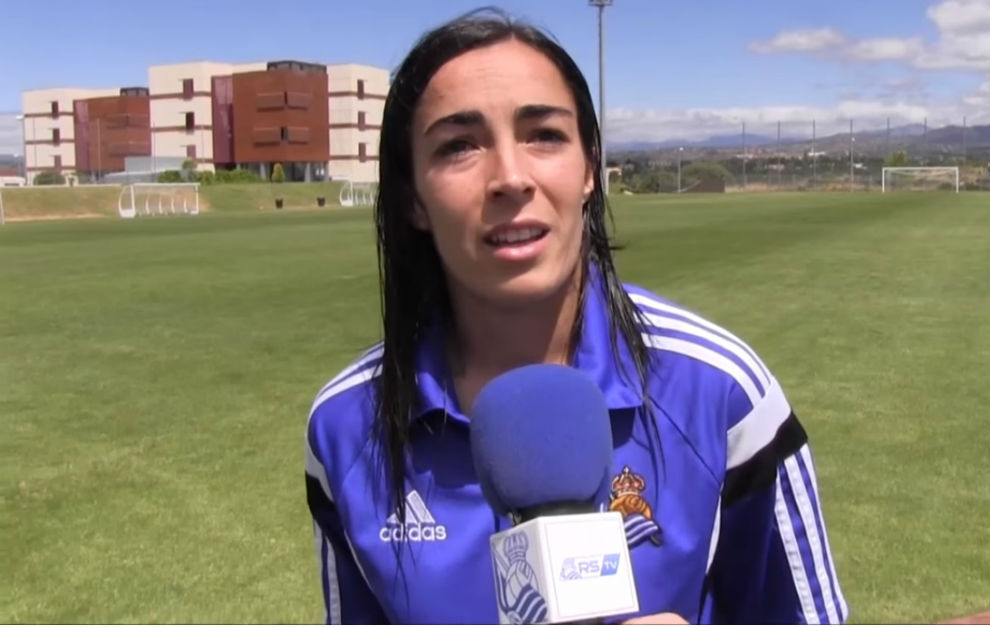 Chini Pizarro durante una entrevista en Las Rozas.