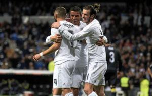La BBC celebra un gol del Madrid en el Bernab�u