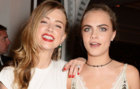 Amber Heard y Cara Delevigne