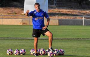 Bernardo Tapia, actual segundo entrenador del Reus, en un...