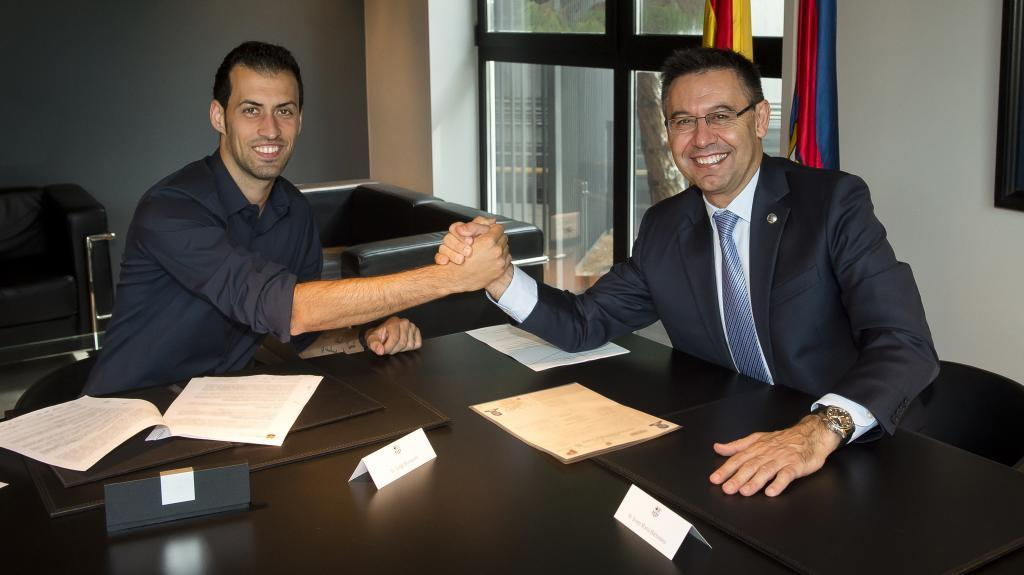 Busquets and Barcelona have come to an agreement.