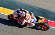 Dani Pedrosa con la moto HRC de esta temporada.