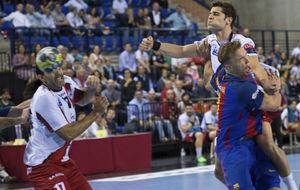Vigo y Garabaya, dudas para el partido frente al Elverum.