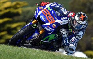Jorge Lorenzo, sobre la Yamaha en Phillip Island