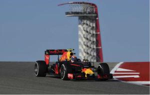 Versttapen pilota su Red Bull en el Circuito de las Am�ricas.