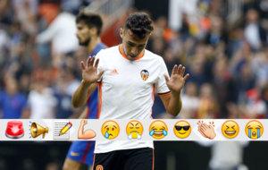 Munir celebra el gol.