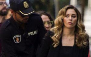 Blanca Su�rez detenida por la Polic�a