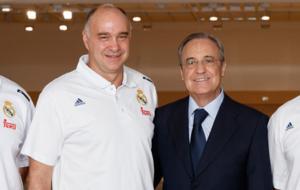 Pablo Laso y Florentino P�rez
