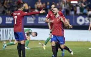 Roberto Torres celebra el gol que marc� contra el Betis