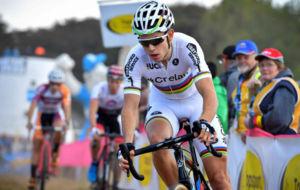 El campe�n del mundo, el belga  Wout Van Aert.