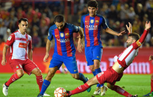 Arda durante el partido ante el Espanyol.