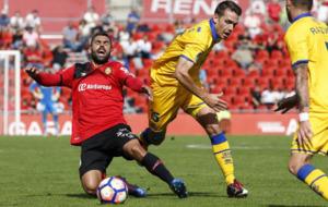 Juan Culio en el partido contra el Alcorc�n