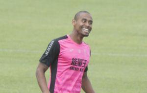 Gabriel Silva, durante un entrenamiento.