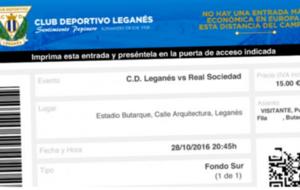 La web del Legan�s en la que ya se pueden comprar entradas on-line