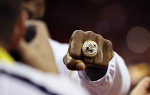 Anillo de campe�n de los Cleveland Cavaliers.