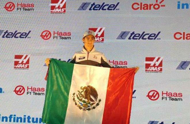 Esteban Guti{errez, en rueda de prensa antes del GP de M{exico