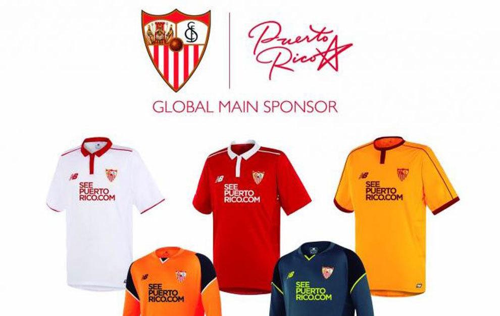camisetas de futbol Sevilla FC nuevas