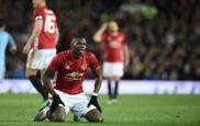 Pogba se lamenta durante una acci�n del Manchester United-Manchester...