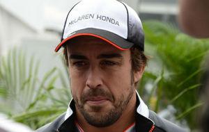 Fernando Alonso, en el GP de México.