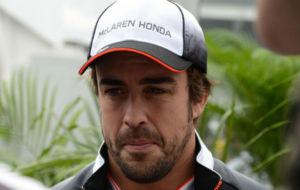 Fernando Alonso, en el GP de M�xico.
