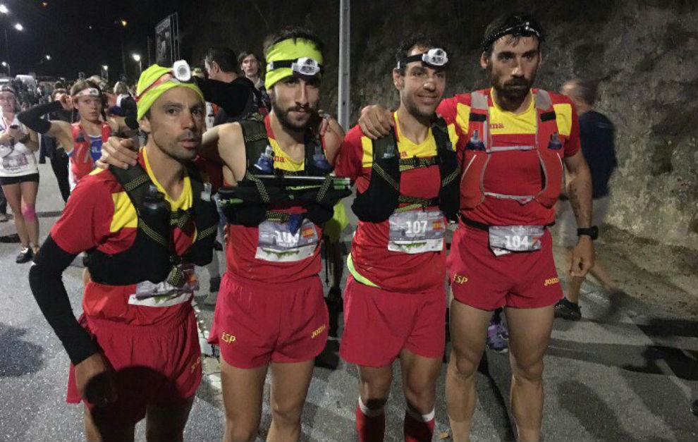 Castanyer, Villa, Durán y Hernando, antes de la salida.
