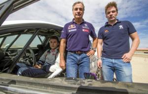 Sainz, junto a 'Cohete' Suárez, el último piloto...